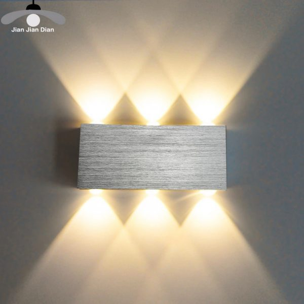 Silver LED Hallway/Bedroom/Living Room Light Fixture