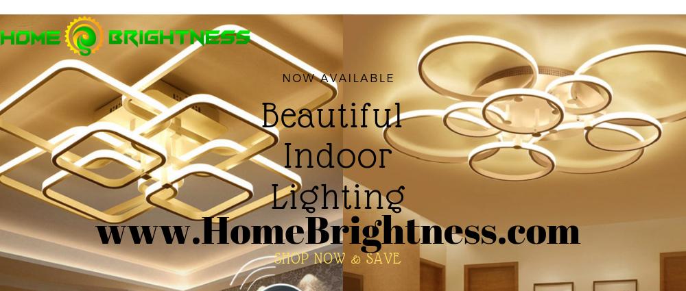 Home Brightness Banner